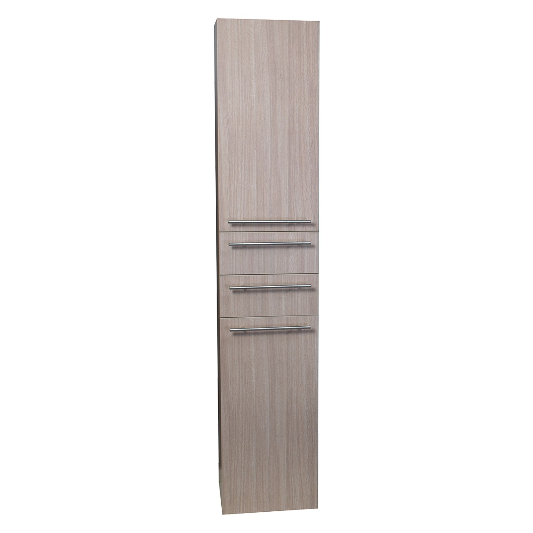 Differnz hoge kolomkast Force 176x35x30cm rechts eiken