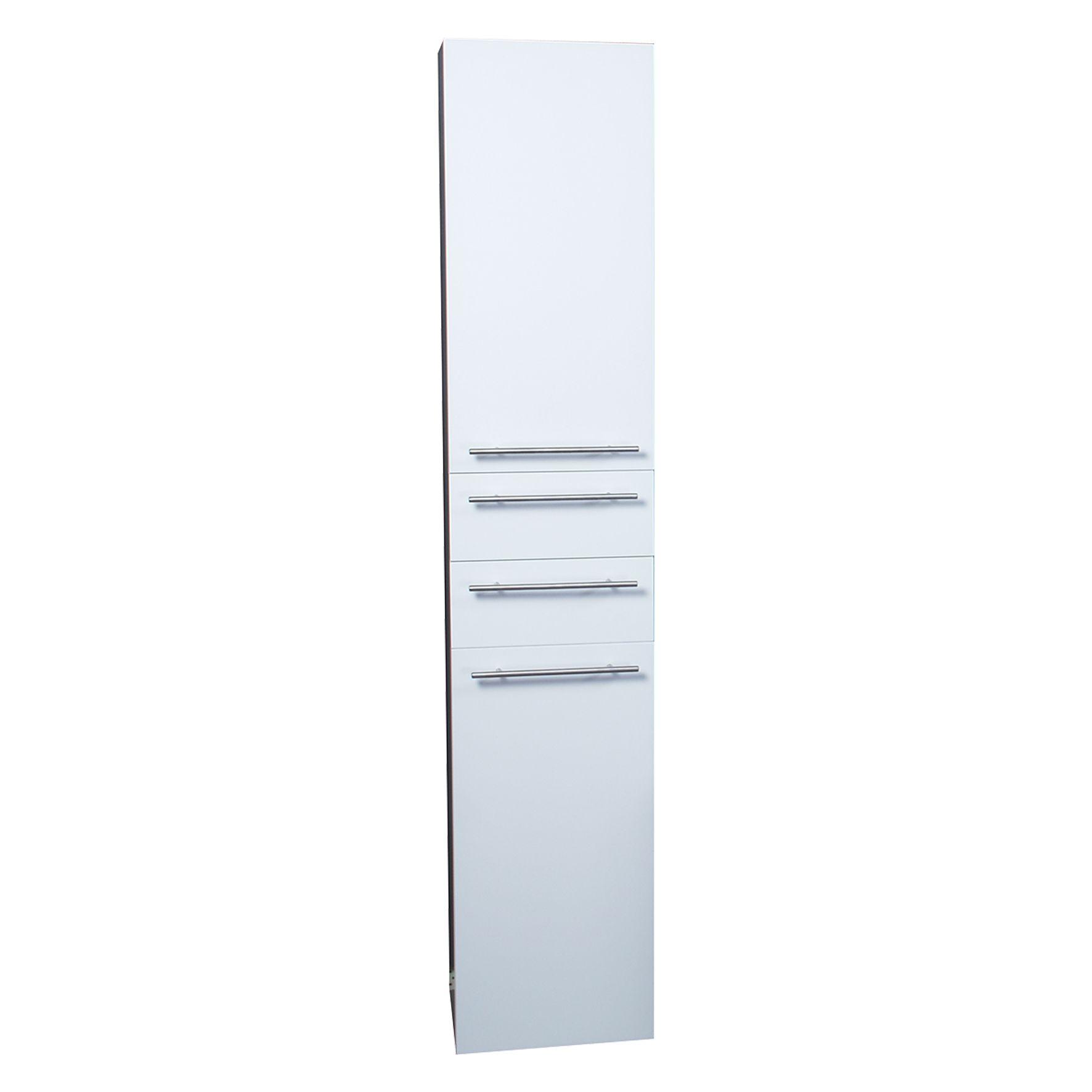 Differnz hoge kolomkast Force 176x35x30cm rechts wit