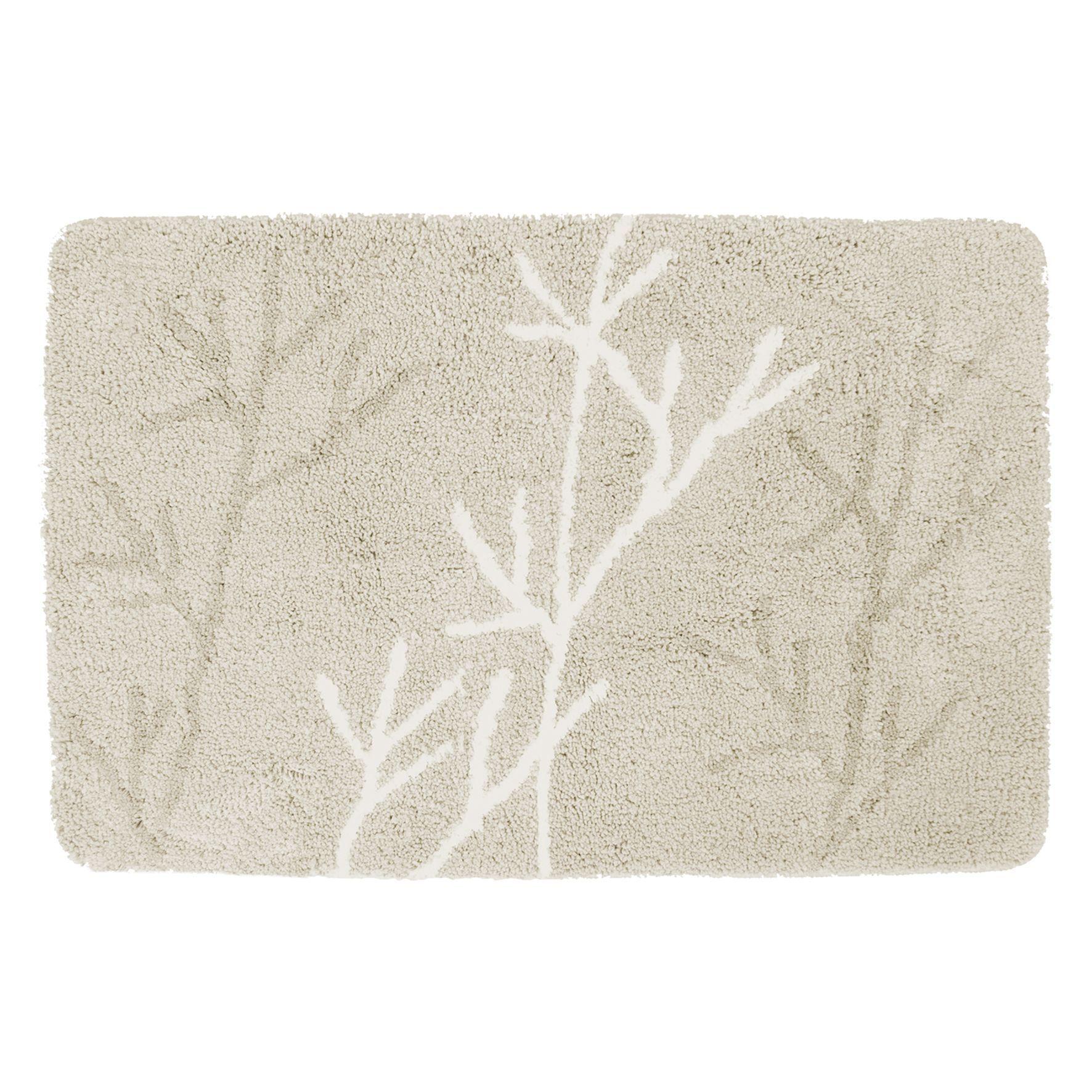 Differnz Leaf badmat 60x90 beige