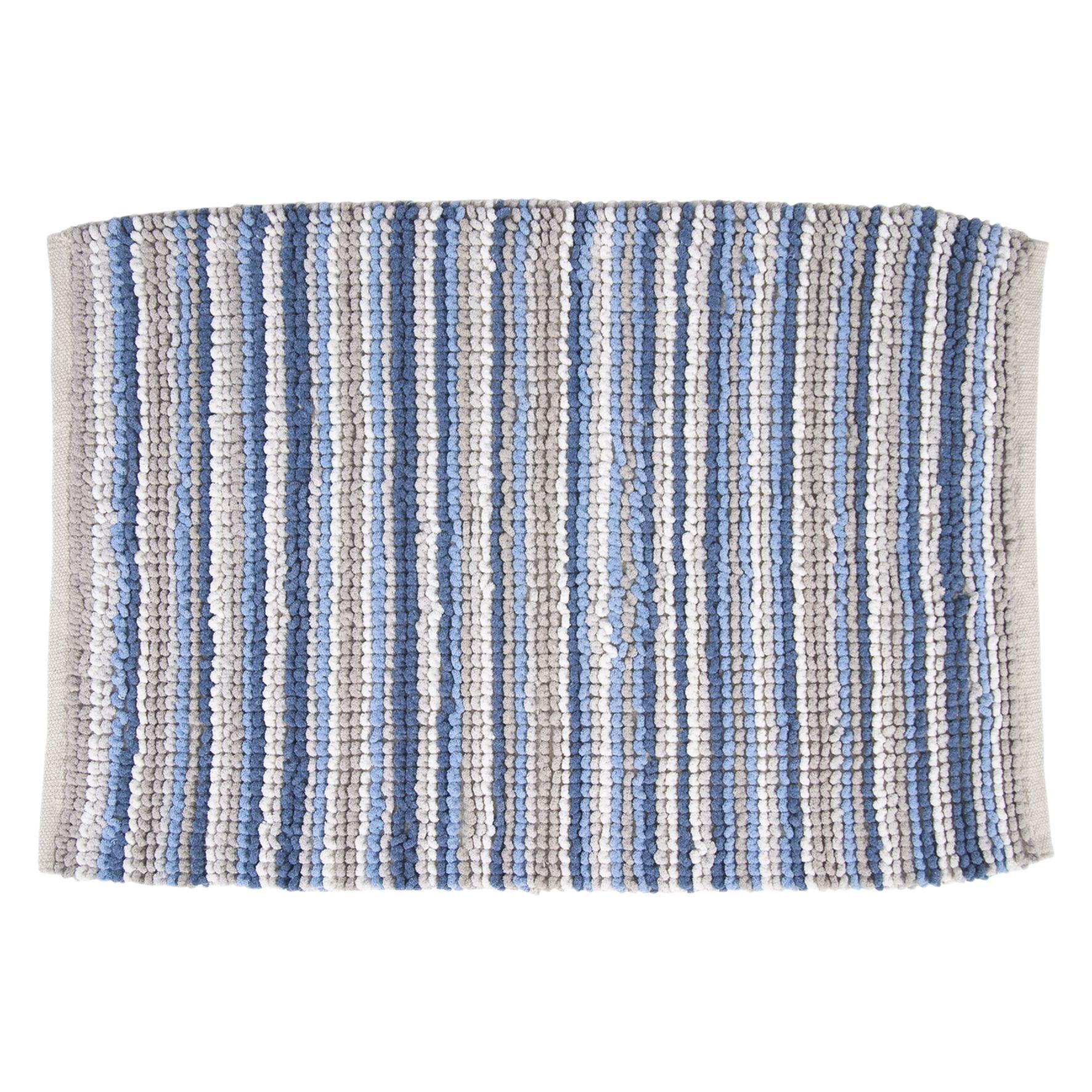 Differnz Orgio badmat 60x100 blauw/ecru