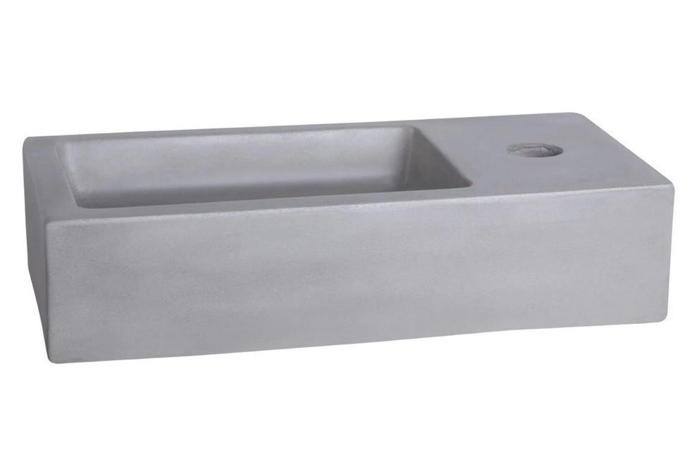 Differnz Ravo fontein 38.5x18.5x9cm beton licht grijs