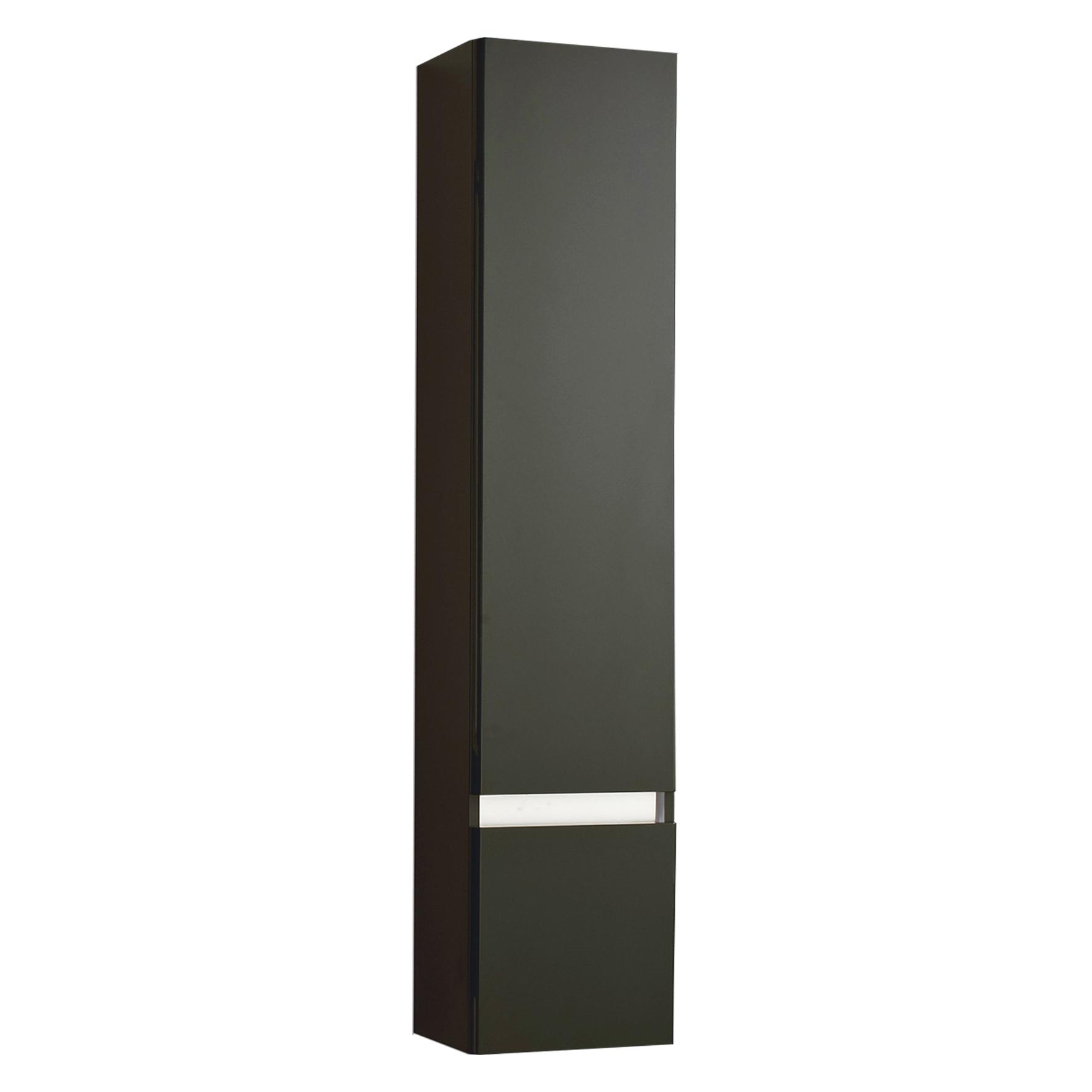 Differnz Stripe Kast Hoge rechts 35x156cm zwart
