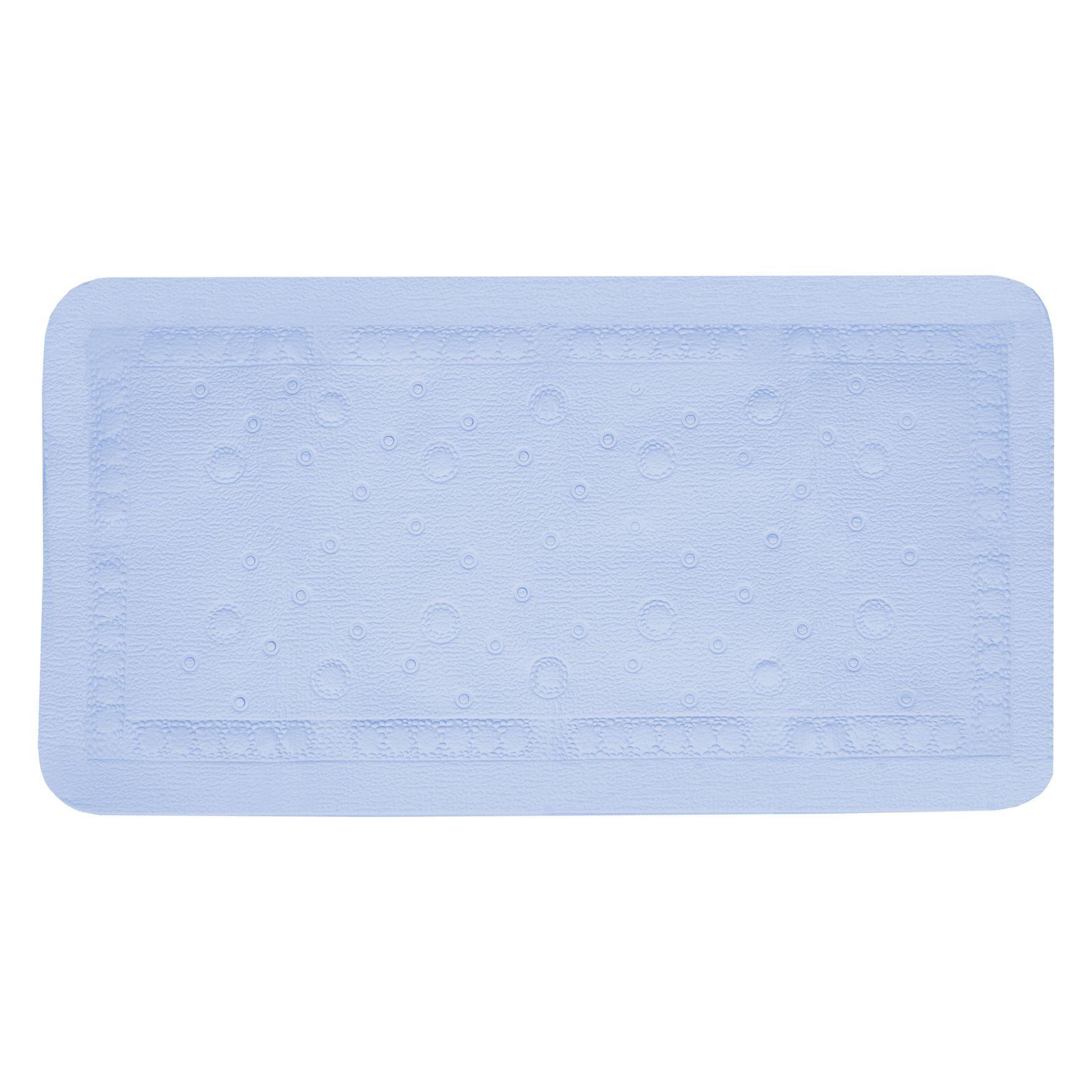 Differnz Tutus antislip badmat 68x36cm blauw