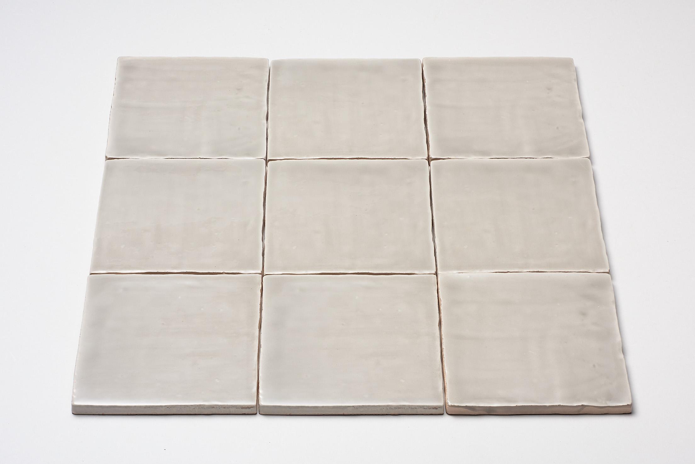 DTG Oud Hollands mozaïek wandtegel 13×13 licht grijs