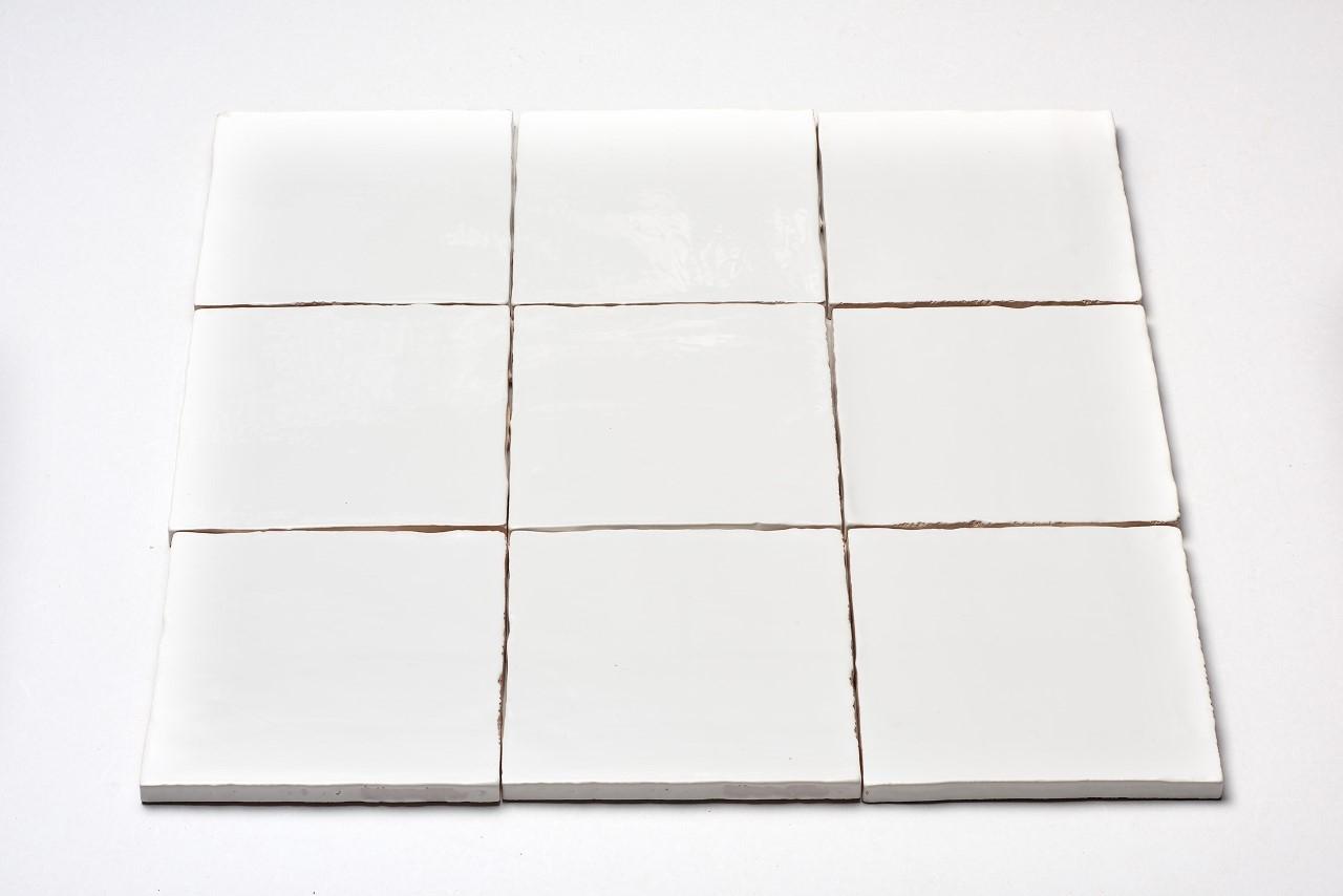 DTG Oud Hollands mozaïek wandtegel 13×13 wit