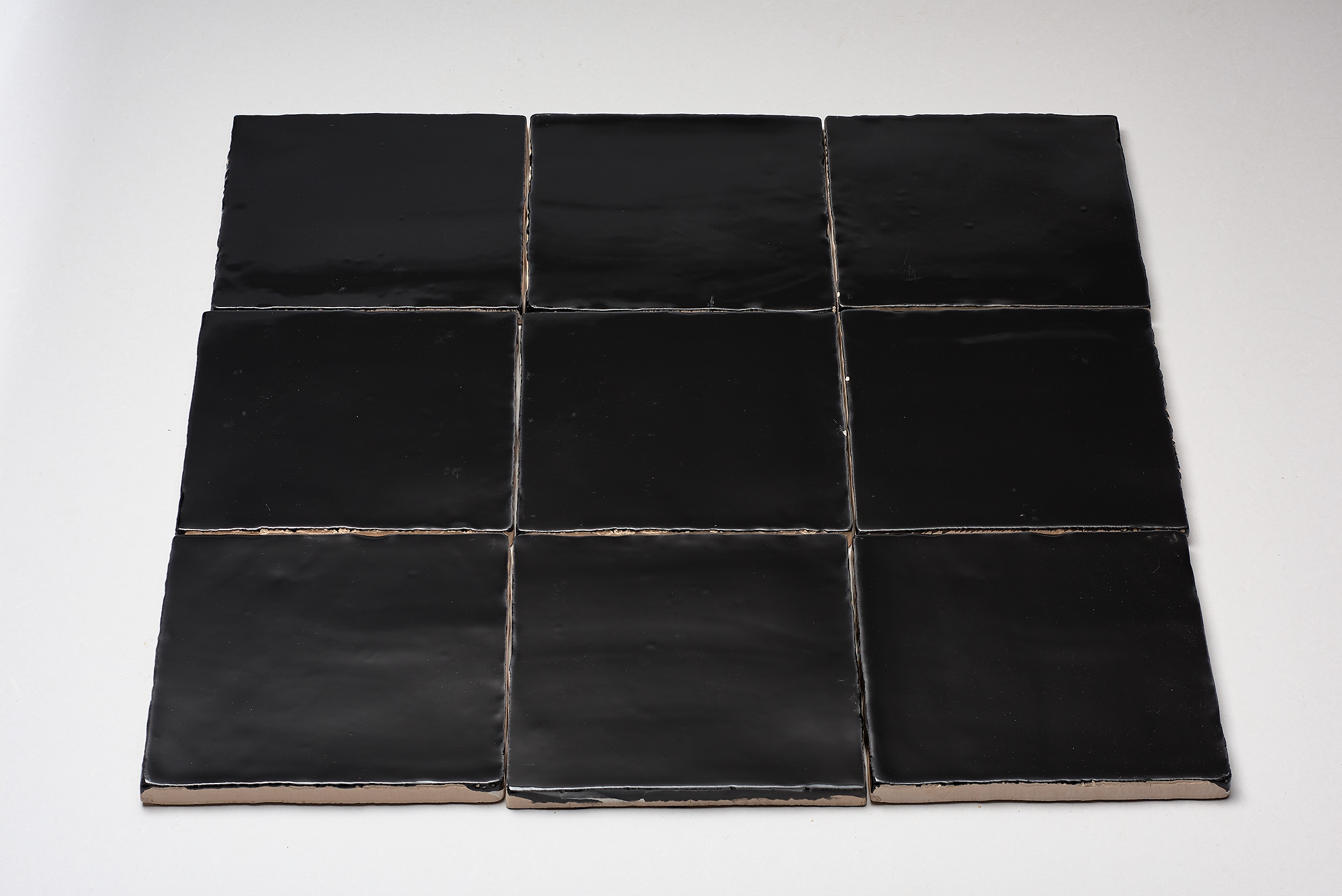 DTG Oud Hollands mozaïek wandtegel 13×13 zwart