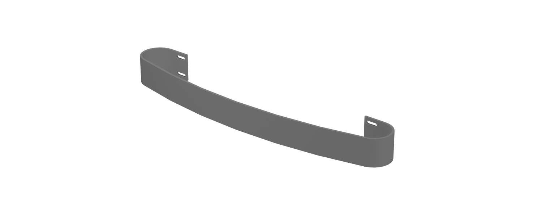 Eastbrook Peretti handdoekbeugel Antraciet 37,5cm