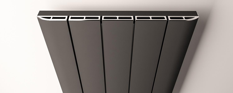 Eastbrook Peretti radiatorrooster Chroom 66cm