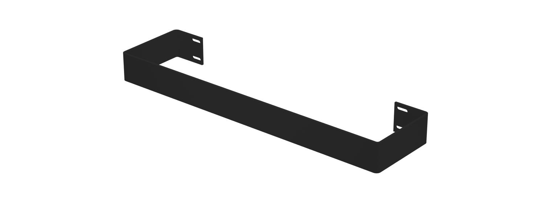 Eastbrook Rosano handdoekbeugel Mat zwart 37,5cm
