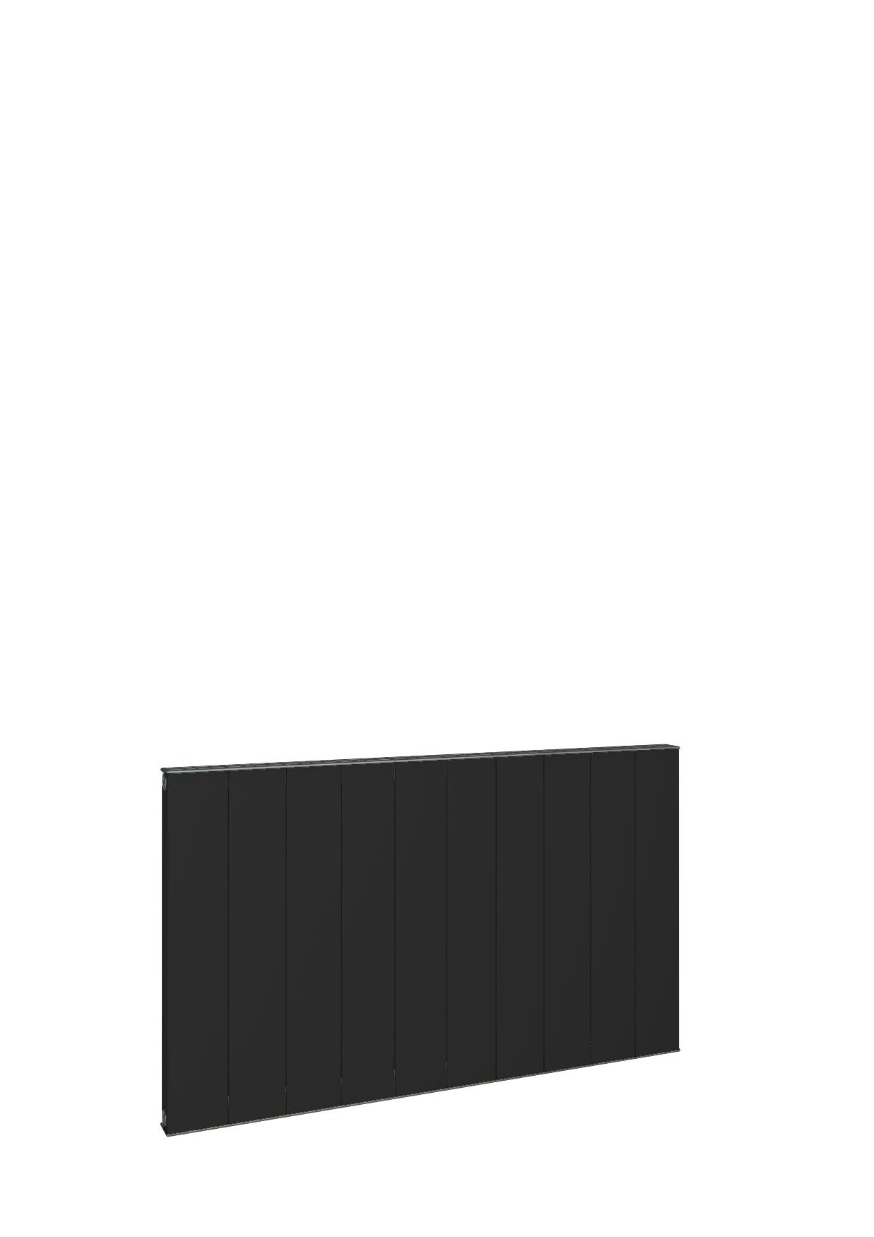 Eastbrook Vesima horizontale aluminium verwarming 60x80,3cm Mat zwart 1056 watt