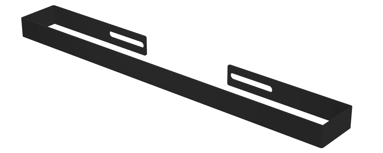 Eastbrook Vesima radiator handdoekbeugel Mat zwart 30,3cm