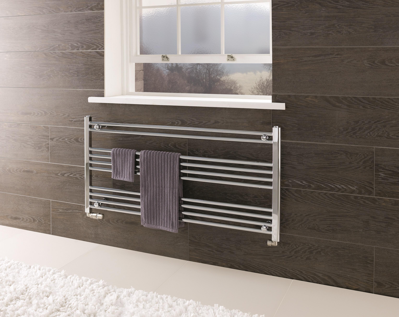 Eastbrook Wendover horizontale radiator 60x75cm Chroom 249 watt