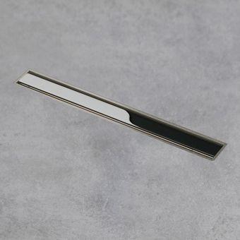 Easy Drain Aqua Jewels XS zero gepolijst 20cm m. zijuitloop 50mm m. waterslot 50mm RVS