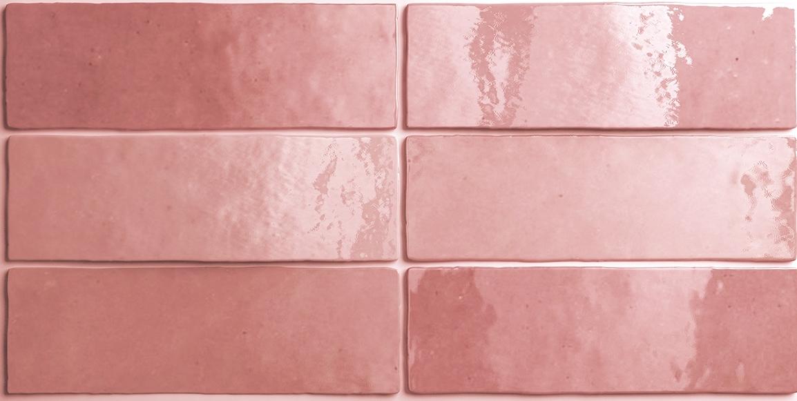 Wandtegel Artisan Rose Mallow 6,5x20