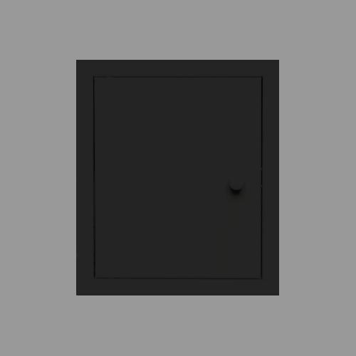 Etsero Back-up inbouw opberg kastje mat zwart te koop met voordeel