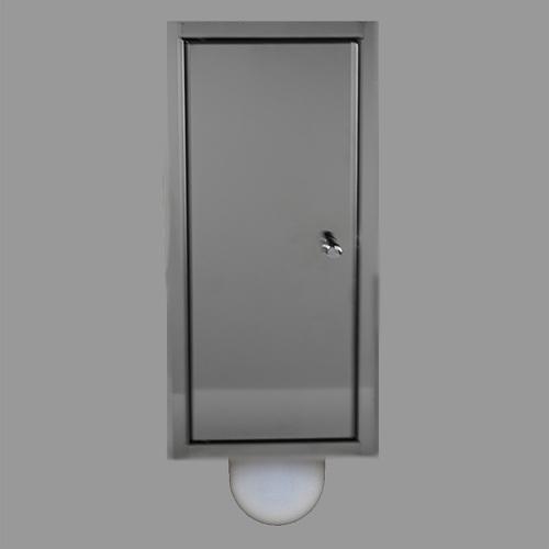 Etsero Brush-up inbouw toiletborstel RVS gepolijst te koop met voordeel