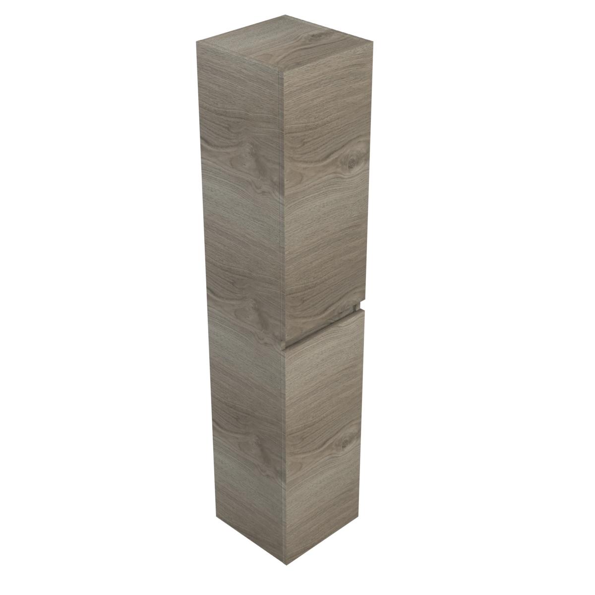 Galva Take It kolomkast 170x35x35 zilver eiken