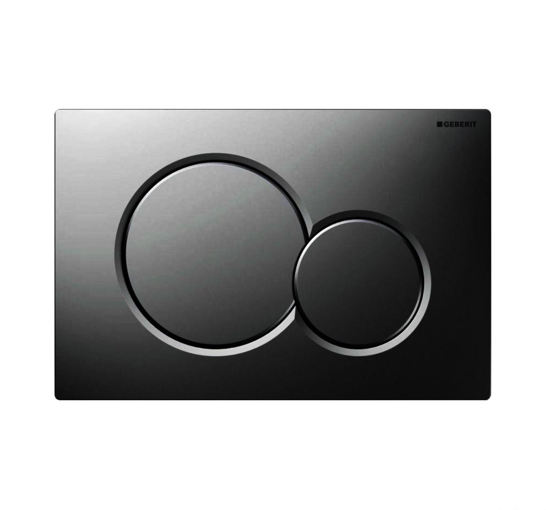 Geberit Sigma 01 drukplaat - bedieningspaneel black chrome