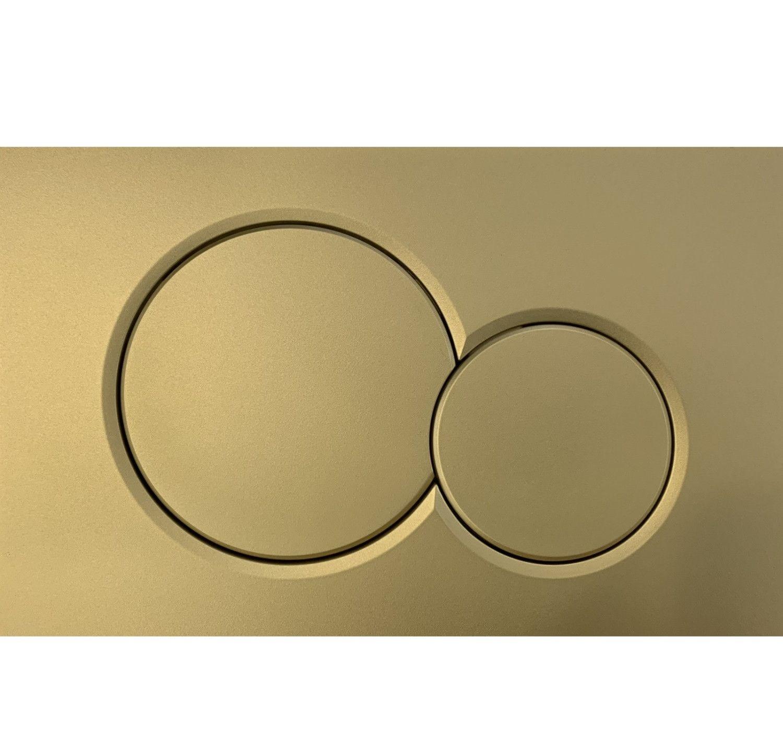 Geberit Sigma 01 drukplaat - bedieningspaneel goud