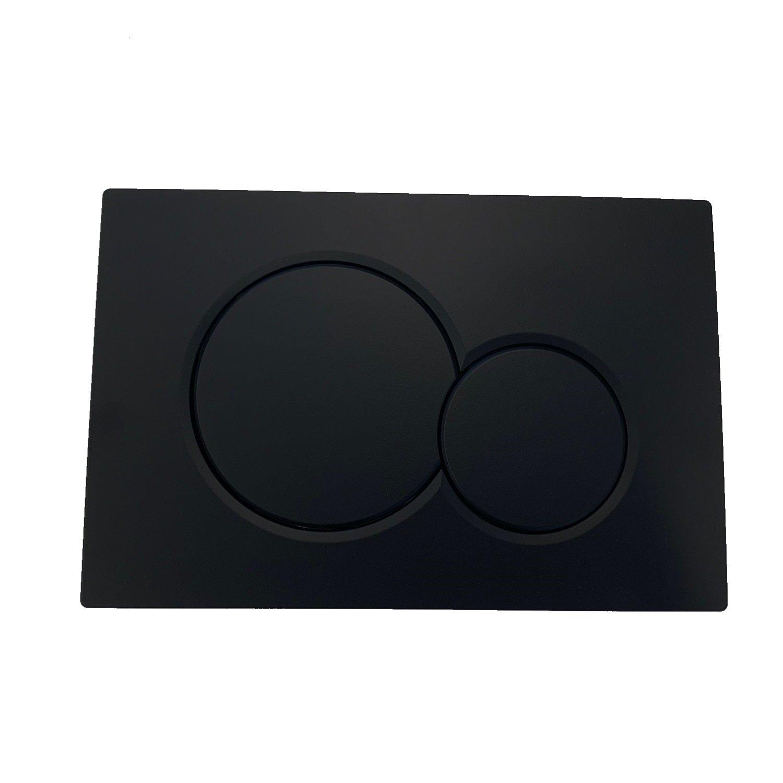 Geberit Sigma 01 drukplaat mat zwart bedieningspaneel