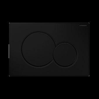 Geberit Sigma 01 drukplaat mat zwart