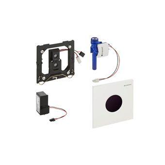 Geberit Sigma 01 urinoir stuursysteem Sigma 01 infrarood netspanning 13x13cm v. inbouw in ruwbouwset