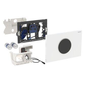 Geberit Sigma 10 WC-stuursysteem Sigma 10 SF electronisch, touchefree, batterijvoeding 24.6x16.4cm m
