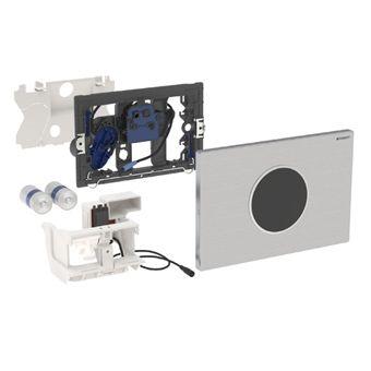 Geberit Sigma 10 WC-stuursysteem Sigma 10 SF electronisch, touchfree, batterijv. vergrendelb. 24.6x1