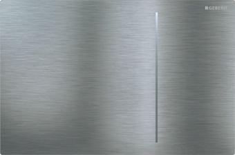 Geberit Sigma 70 bedieningsplaat Sigma 70 DF 12cm frontbediend 24x15.8cm t.b.v. UP300/320 res. RVS