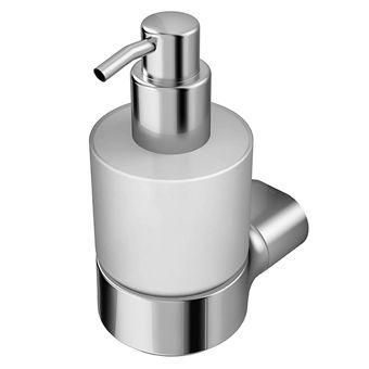 Geesa Wynk zeepdispenser wandmodel chroom