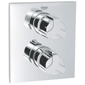 Grohe Allure afbouwdeel T voor inbouw badkraan thermostatisch 35500 chroom