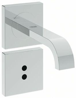 Grohe Allure E afbouwdeel v. inbouw infrarood elektronica v. wandmontage m. uitloop chroom