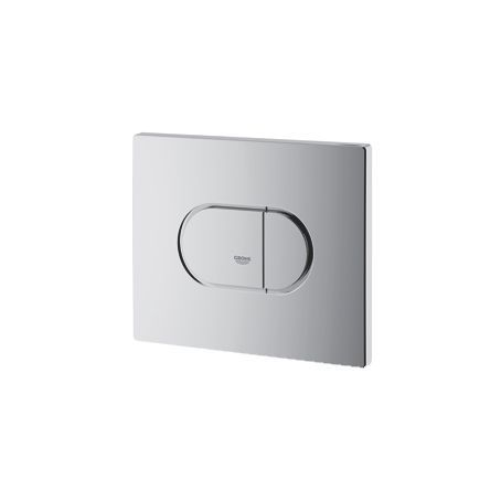 Grohe Arena Cosmopolitan WC bedieningsplaat DF horizontaal 156x197mm chroom