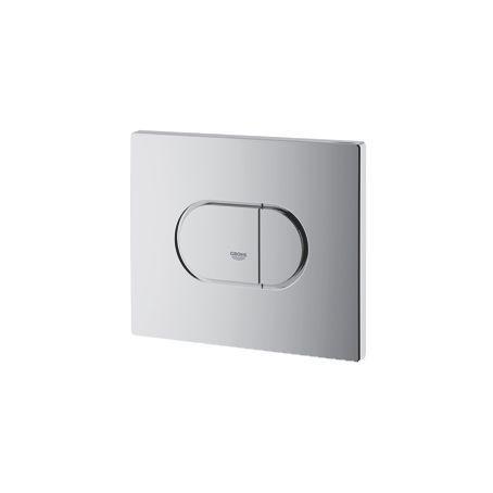 Grohe Arena Cosmopolitan WC bedieningsplaat DF horizontaal 156x197mm matchroom