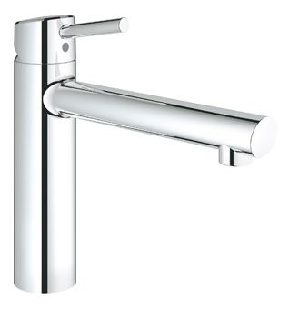 Grohe Concetto 1-gats keukenkraan m. medium uitloop chroom