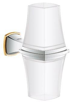 Grohe Grandera badkamerlamp, chroom-goud