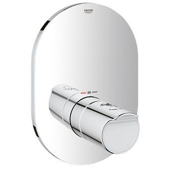 Grohe Grohtherm-2000 afbouwdeel T v. inbouw centraal thermostaat 35500 chroom
