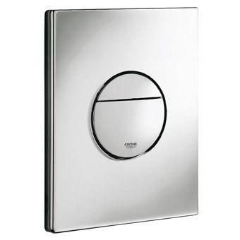 Grohe Nova Cosmopolitan WC bedieningsplaat DF verticaal/horizontaal 156x197mm chroom
