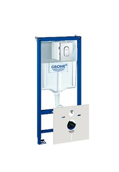 Grohe Rapid SL WC-element incl. bedieningsplaat Arena Cosmopolitan 113cm v. voorwand-of systeem wand