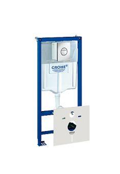 Grohe Rapid SL WC-element incl. bedieningsplaat Nova Cosmopolitan 113cm v. voorwand-of systeem wandm
