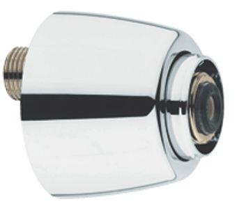 Grohe S-koppeling m. rozet afsluitbaar per stuk 1/2x3/4 verstelbaarheid 12.5mm chroom