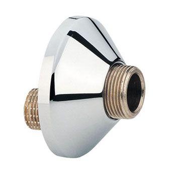 Grohe S-koppeling m. rozet per paar 3/8x1/2 verstelbaarheid 10mm chroom
