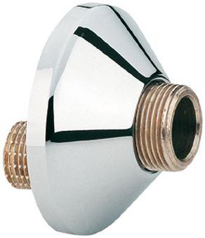 Grohe S-koppeling m. rozet per stuk 1/2x1/2 verstelbaarheid 10mm chroom