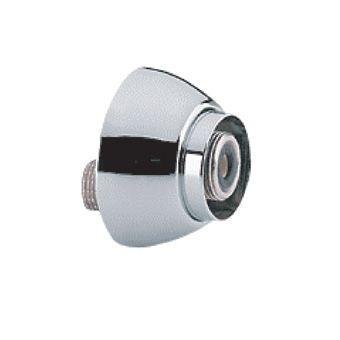 Grohe S-koppeling m. rozet per stuk 1/2x3/4 verstelbaarheid 7.5mm chroom