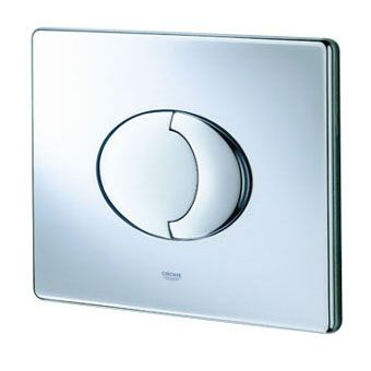Grohe Skate Air WC bedieningsplaat DF horizontaal 156x197mm chroom
