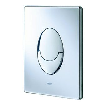 Grohe Skate Air WC bedieningsplaat DF verticaal 156x197mm chroom