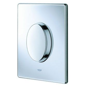 Grohe Skate Air WC bedieningsplaat SF 156x197mm verticaal chroom
