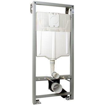 Grohe Solido WC-element zelfdragend m. dualflush spoeling en frontbediening
