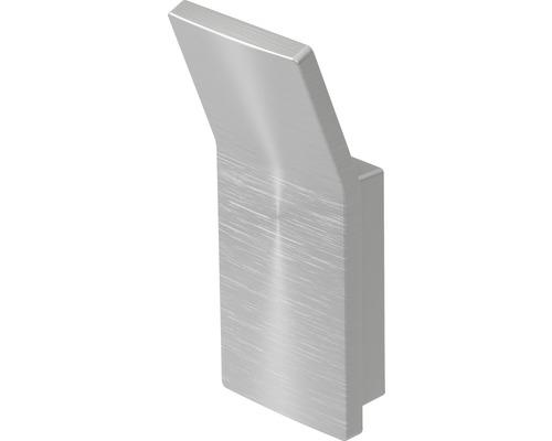Haceka Aline haak geborsteld aluminium