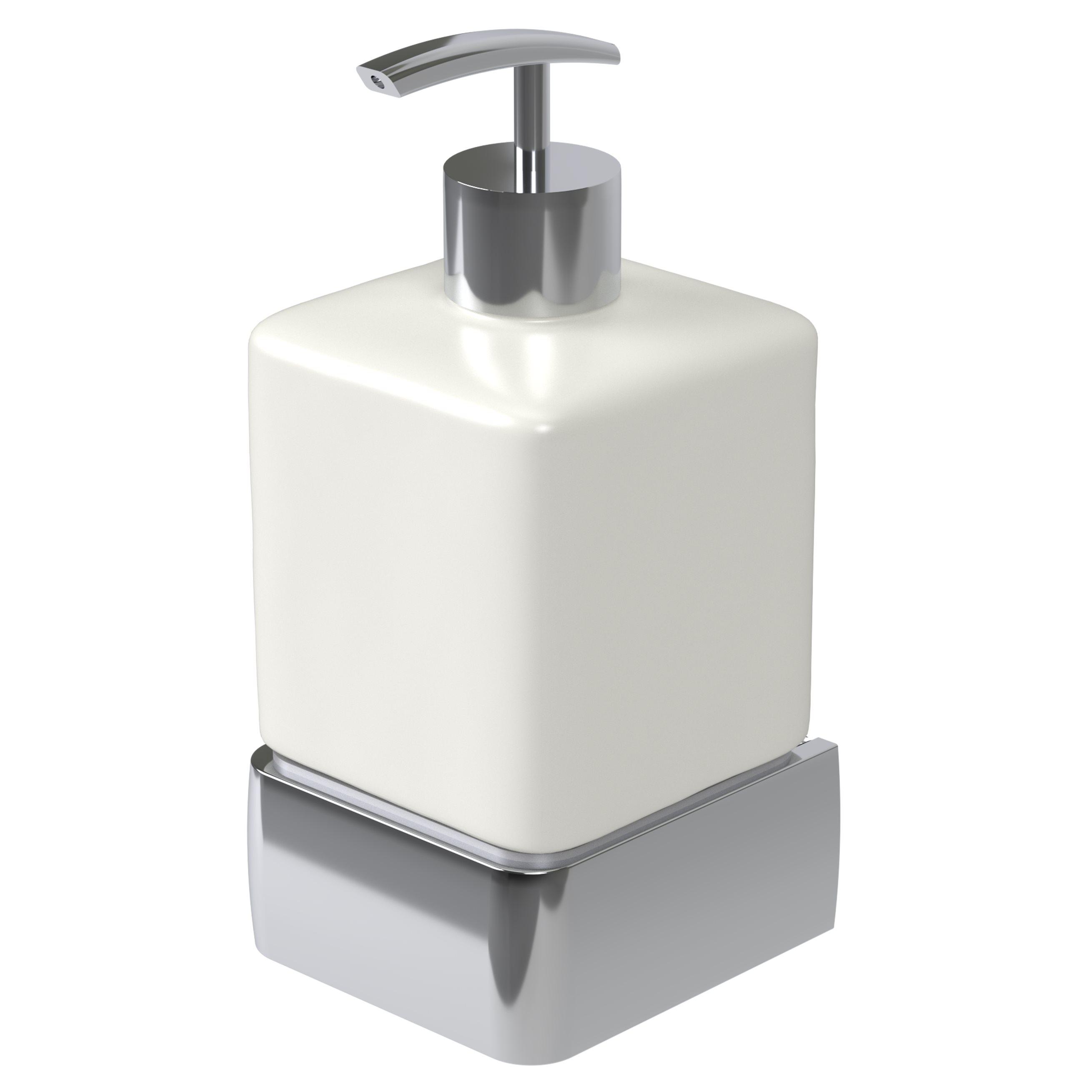 Haceka Aline zeepdispenser gepolijst aluminium